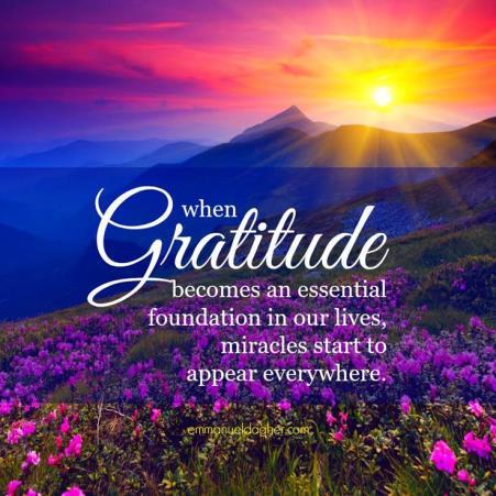 Gratitude – The BlessingAmplifier