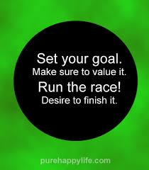 Start and Win the Race to Your Goal